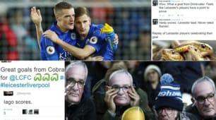 """Rinascita Leicester: l'ironia del web su Vardy e compagni """"serpi"""""""