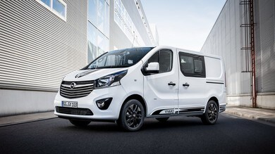 Opel Vivaro Sport, il veicolo commerciale in versione hi tech