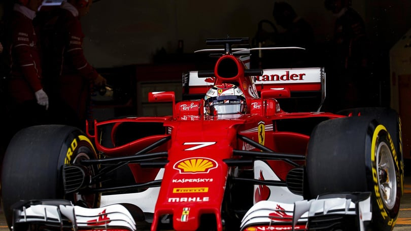 F1, test Barcellona: Raikkonen è il più veloce