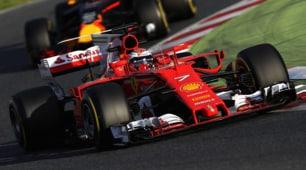 F1, Raikkonen è il più veloce a Montmelò