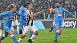 Dybala e Higuain travolgenti:Juventus-Napoli termina 3-1