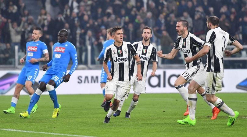 Coppa Italia, la Juventus vince e il Napoli protesta: all'andata è 3-1