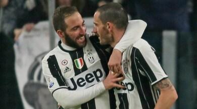 Juventus, Higuain: «L'esultanza? Per il Napoli ho sempre rispetto»