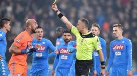 Napoli, Reina: «Risultato condizionato dall'arbitro, ha visto tutta Italia»