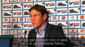 """Garcia: """"Evra, la Juve ce l'ha dato rotto"""""""