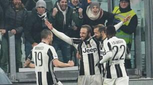 Juventus-Napoli, Higuain questa volta esulta