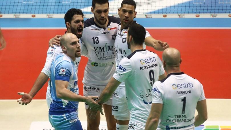 Volley: A2 Maschile Pool Promozione, stasera il recupero Bergamo-Siena