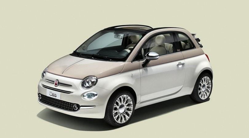 """A Ginevra la Fiat 500 dei """"60 anni"""" e la Abarth 595 Pista"""