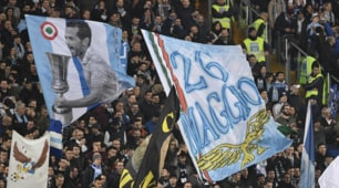 Lazio-Roma, il Derby è sugli spalti: lo spettacolo delle tifoserie