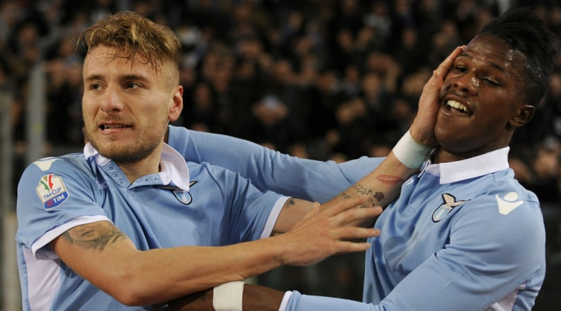 Coppa Italia, Lazio-Roma 2-0: Milinkovic e Immobile si prendono il derby