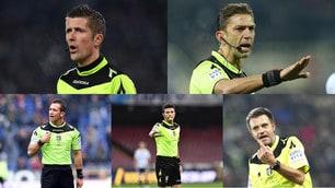 I numeri dei 22 arbitri di Serie A