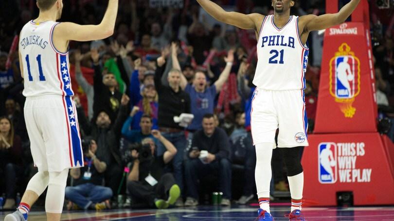 NBA, Embiid operato al ginocchio sinistro