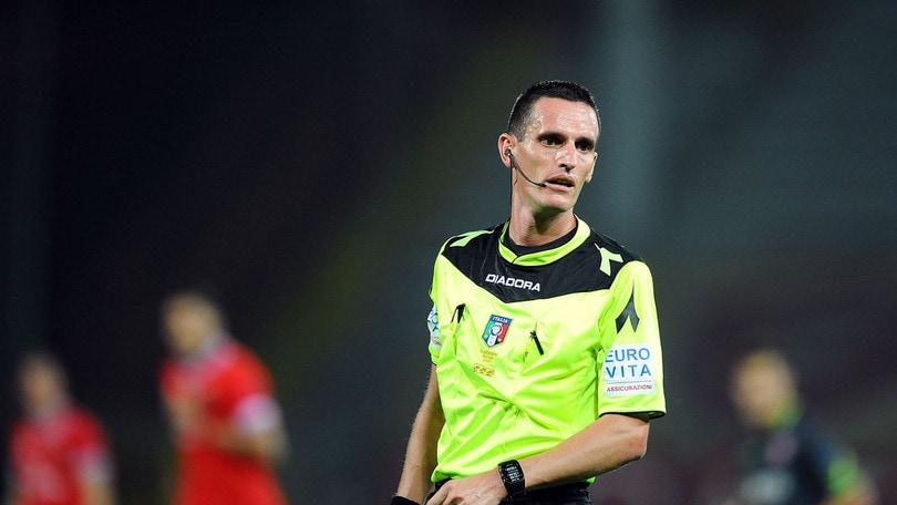 Serie B Frosinone-Cittadella, arbitra Minelli. Brescia-Verona: Aureliano