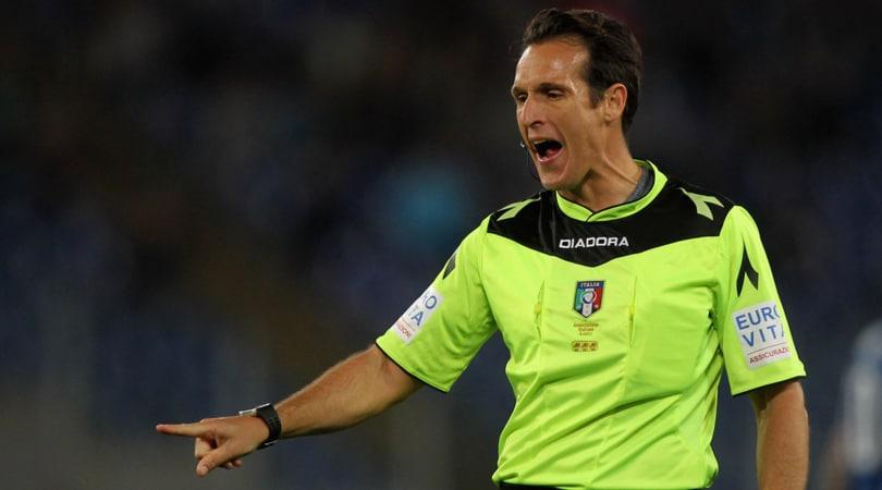 Arbitri Serie A, Roma-Napoli a Banti. Damato per Udinese-Juventus