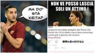 Ironia Social: lo sfottò dei tifosi della Lazio e la risposta romanista