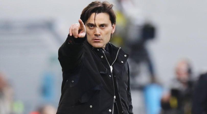 Milan-Chievo, la conferenza di Montella fra Europa, closing e contratto