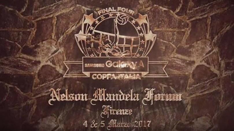 Volley: Coppa Italia A1 Femminile, domani le due semifinali
