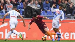 Roma-Napoli 1-2: Mertens show