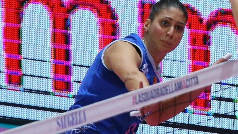 Volley: A2 Femminile, la sfida salvezza la vince Caserta