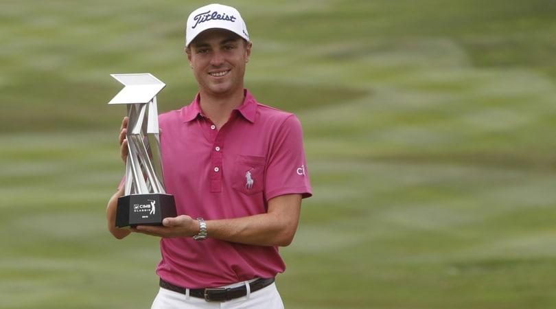 Golf, Wgc Messico: Thomas fa buca in uno e diventa primo