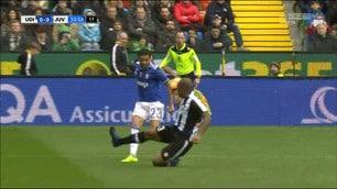 Udinese-Juventus, la sequenza del rigore richiesto da Dani Alves