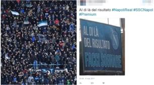 Napoli-Real Madrid, la vigilia è social: ansia e carica tra i tifosi