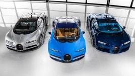 Bugatti Chiron, già venduta metà produzione