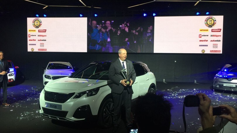 Auto dell'Anno, vince Peugeot 3008, delusione Alfa Giulia