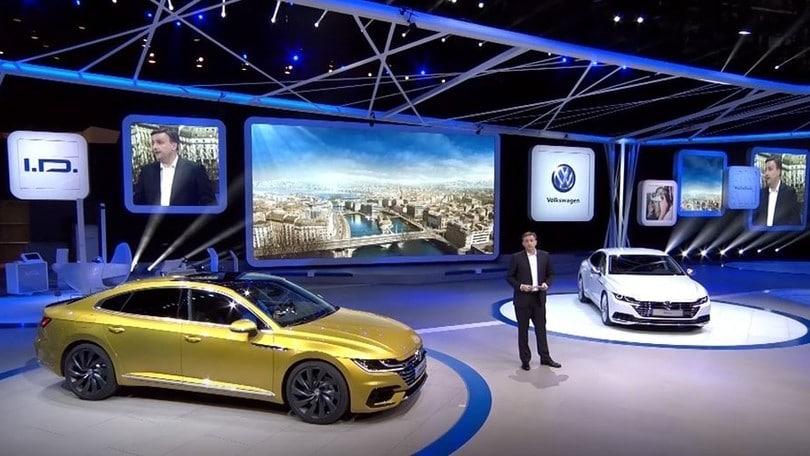 Volkswagen Arteon, la nuova ammiraglia al Salone di Ginevra
