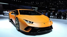 Lamborghini Huracan Performante, live: foto