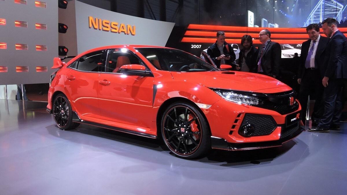 Honda Civic Type-R, live: foto