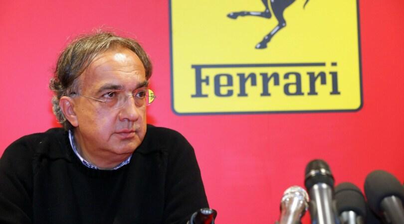 """Marchionne: """"Questa Ferrari piace, non so quando ma vincerà"""""""