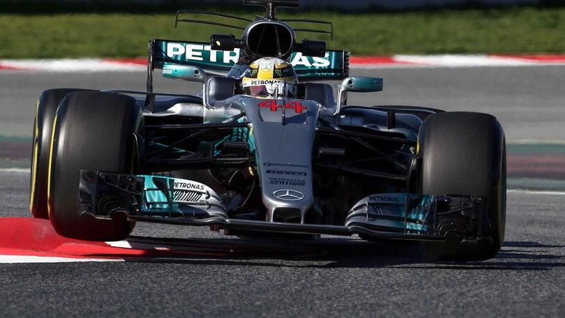 F1 Mercedes, Hamilton: «Dobbiamo migliorare»