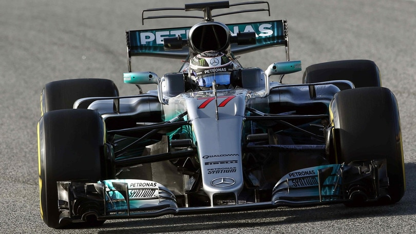 F1, test a Barcellona: Bottas da record, Raikkonen terzo