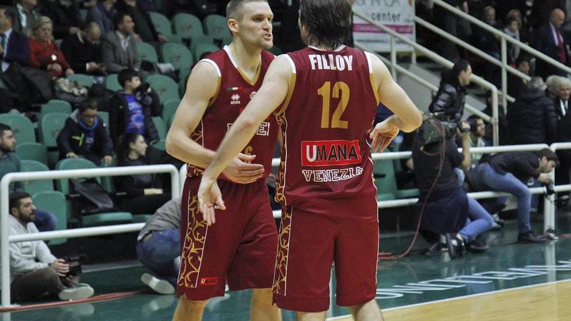 Basket Champions League, Venezia elimina Avellino