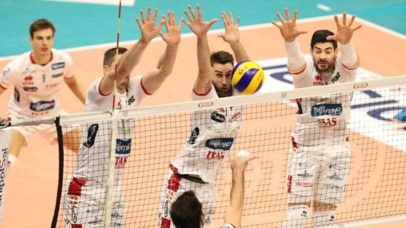 Superlega, Trento vince a Monza e completa l'opera