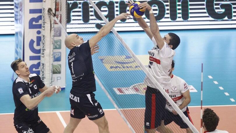 Volley: A2 Maschile Pool Promozione, nella 2a di ritorno vincono le squadre di casa