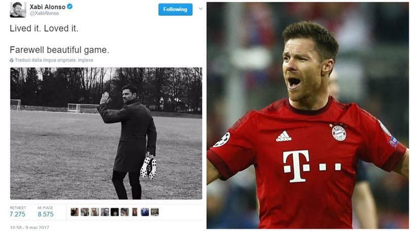 Bayern Monaco: Xabi Alonso si ritira a fine stagione