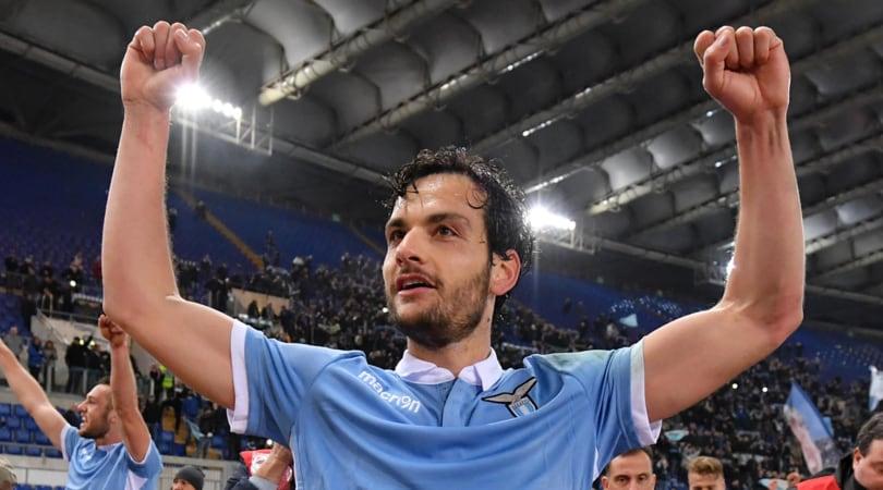 Coppa Italia Lazio, Parolo in gruppo: Juventus nel mirino