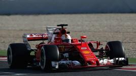 F1, test Montmelò: Vettel il più veloce con le ultrasoft
