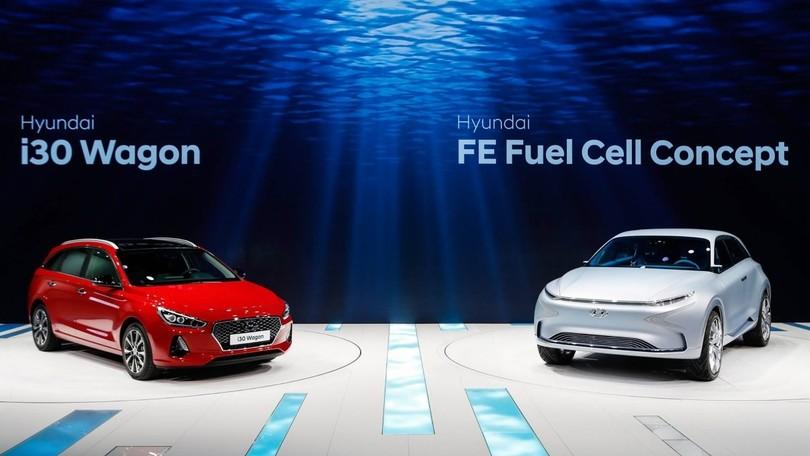 Hyundai a tutto campo al Salone di Ginevra