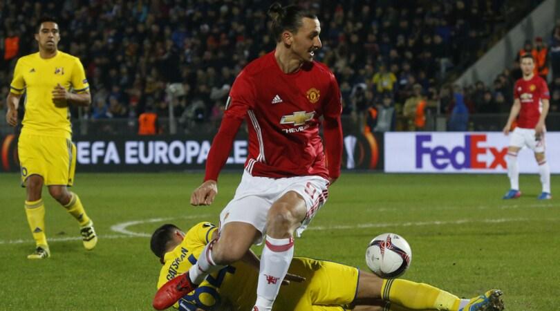 Europa League: United-Rostov, per i bookmaker «1» facile