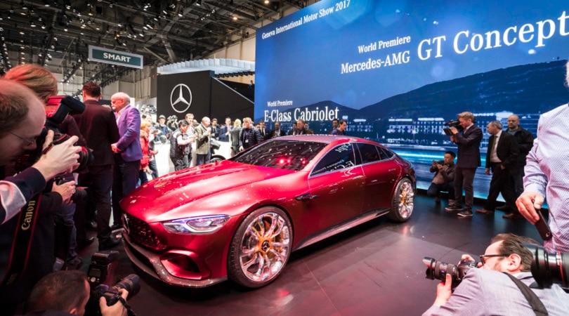 Mercedes AMG GT Concept, quattro porte da Formula 1