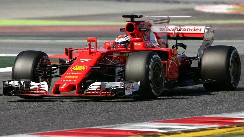 F1 Ferrari, Raikkonen: «Il feeling con la macchina c'è»