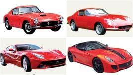 Ecco le 10 Ferrari migliori di sempre