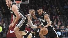 Nba, Mills porta al successo gli Spurs. Il Gallo vince, Beli ko