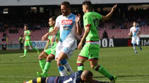 Napoli-Crotone 3-0: Insigne e Mertens conquistano i tre punti
