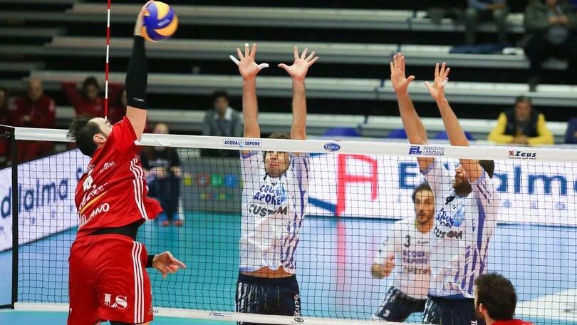 Volley: Play Off 5° posto: vincono Padova e Milano