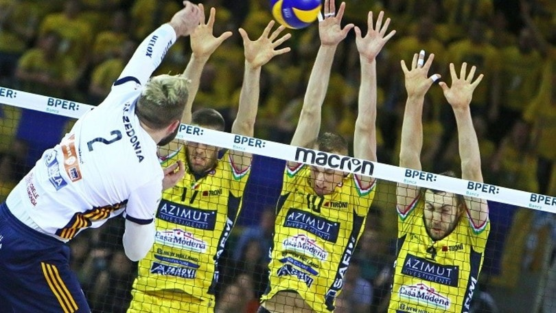 Volley: Superlega Play Off, Modena è la quarta semifinalista