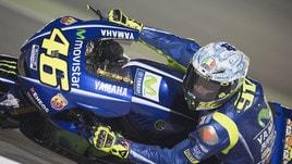 MotoGp: Viñales padrone dei test, Rossi chiude 11°